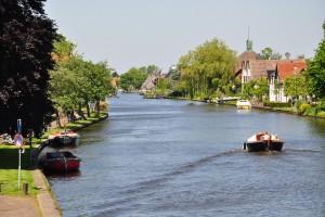 Niederländische Polder und Seen