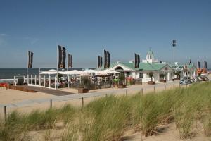 Strandpaviljoens in Noordwijk