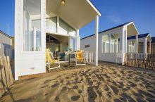 Strandhuisje aan Zee