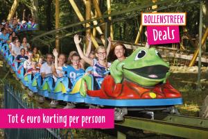 Tot 6 euro korting bij Attractiepark Duinrell in Wassenaar