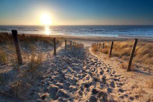 Holländischer Strand und Dünen