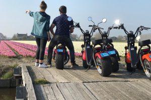 Elektrische scooter verhuur Noordwijk