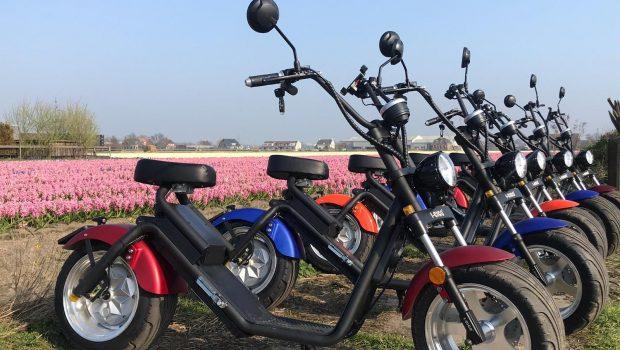 Scooter huren Noordwijk