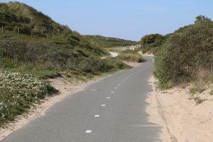 Fietsroute strand en duinen
