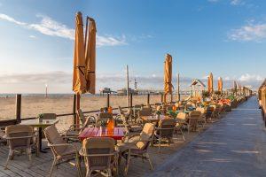 strandpaviljoens restaurants aan zee