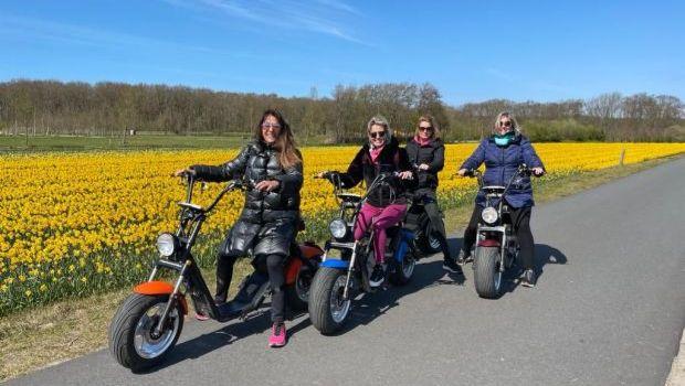 Scooter verhuur Noordwijkerhout